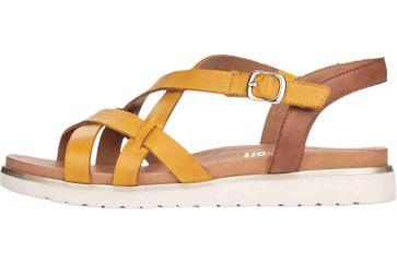 Remonte Sandalen in Übergrößen Gelb D4060-68 große Damenschuhe – Bild 1