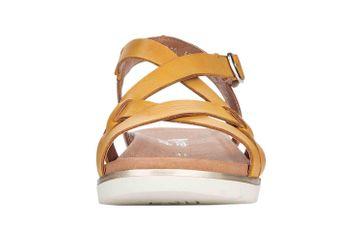 Remonte Sandalen in Übergrößen Gelb D4060-68 große Damenschuhe – Bild 4