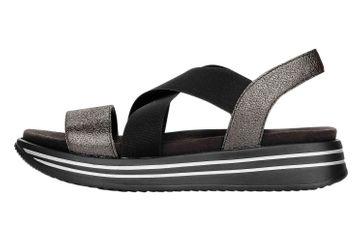 Remonte Sandalen in Übergrößen Schwarz R2954-02 große Damenschuhe – Bild 1