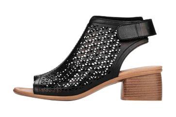 Remonte Sandalen in Übergrößen Schwarz R8771-01 große Damenschuhe – Bild 1