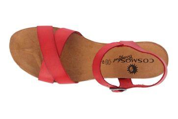Cosmos Comfort Sandalen in Übergrößen Rot 6106-801-5 große Damenschuhe – Bild 7