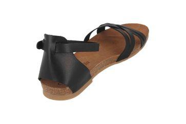 Cosmos Comfort Sandalen in Übergrößen Schwarz 6106-804-9 große Damenschuhe – Bild 3