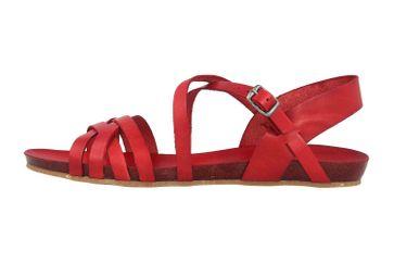 Cosmos Comfort Sandalen in Übergrößen Rot 6137-801-5 große Damenschuhe – Bild 1