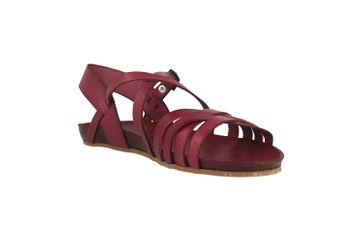 Cosmos Comfort Sandalen in Übergrößen Bordeaux 6137-801-526 große Damenschuhe – Bild 5