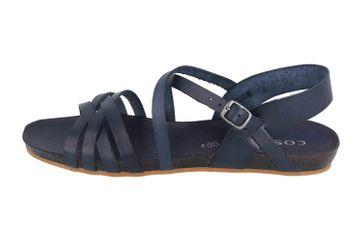 Cosmos Comfort Sandalen in Übergrößen Blau 6137-801-8 große Damenschuhe – Bild 1