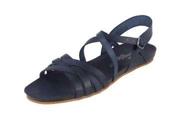 Cosmos Comfort Sandalen in Übergrößen Blau 6137-801-8 große Damenschuhe – Bild 6