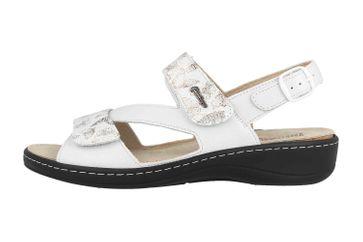 Hickersberger Sandaletten in Übergrößen Weiß 2847-8101 große Damenschuhe – Bild 1