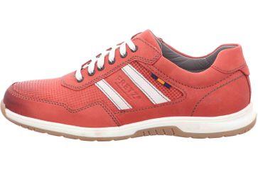 Fretz Men Arezzo Sneaker in Übergrößen Rot 4810.7677-12 große Herrenschuhe – Bild 1