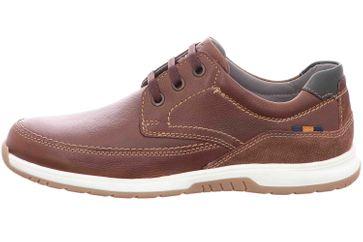 Fretz Men Arezzo Sneaker in Übergrößen Braun 4812.7622-82 große Herrenschuhe – Bild 1