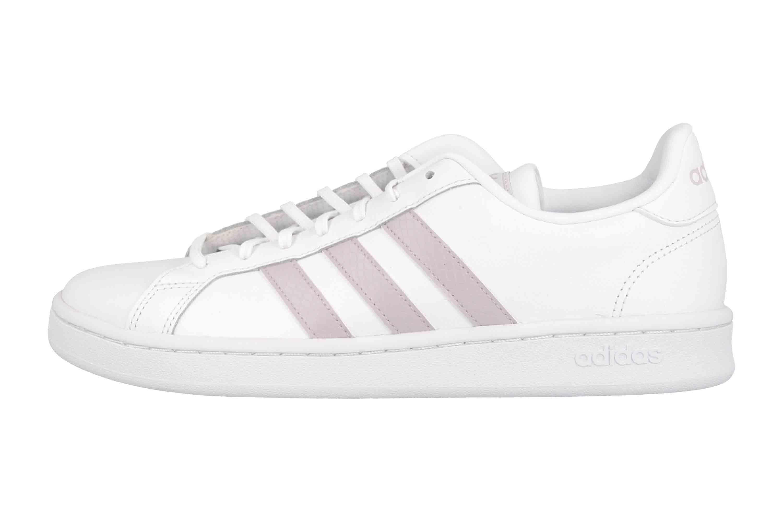 Adidas GRAND COURT Sportschuhe in Übergrößen Weiß EE7465 große Damenschuhe  | Schuhe in Übergrößen | schuhplus | große Schuhe für Damen & Herren