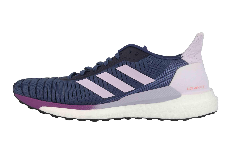 Adidas SOLAR GLIDE 19 W Sportschuhe in Übergrößen Blau EE4333 große  Damenschuhe |