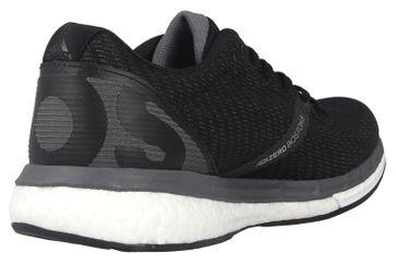 Adidas adizero Boston 8 w Sportschuhe in Übergrößen Schwarz EG1168 große Damenschuhe – Bild 3