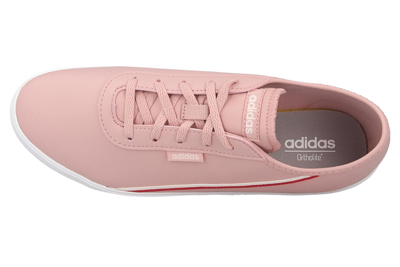 Adidas COURTFLASH X Sportschuhe in Übergrößen Pink EG4273 große Damenschuhe