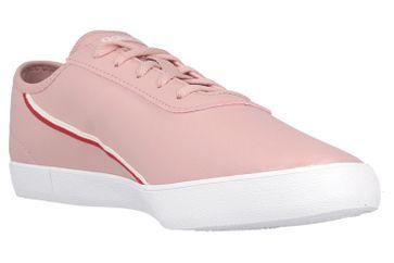 Adidas COURTFLASH X Sportschuhe in Übergrößen Pink EG4273 große Damenschuhe – Bild 5