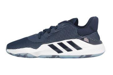 Adidas Pro Bounce 2019 Low Sportschuhe in Übergrößen Blau EF9840 große Herrenschuhe – Bild 1