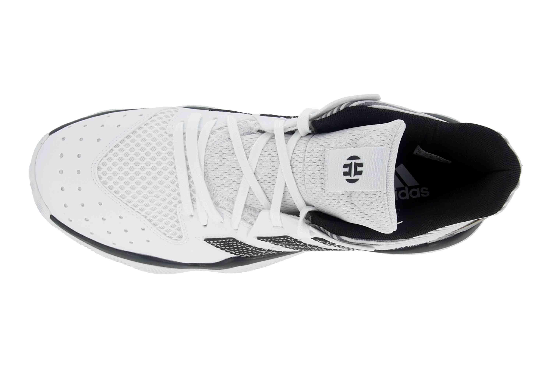 Adidas Harden Stepback Sportschuhe in Übergrößen Weiß EH1942 große Herrenschuhe