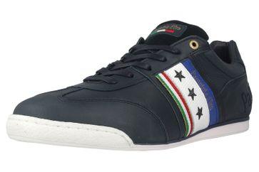 Pantofola d'Oro Imola Romagna Uomo Low Sneaker in Übergrößen Blau 10201040.29Y/10201068.29Y große Herrenschuhe – Bild 6