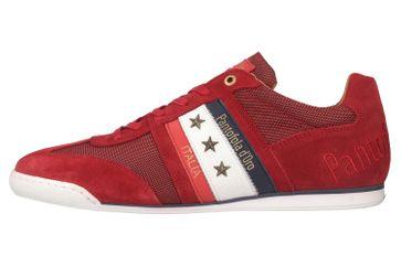 Pantofola d'Oro Imola Canvas Uomo Low Sneaker in Übergrößen Rot 10201042.90J/10201069.90J große Herrenschuhe – Bild 1