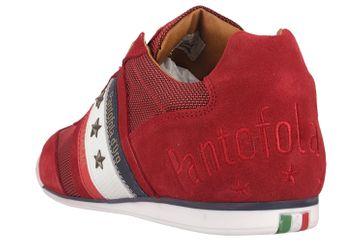 Pantofola d'Oro Imola Canvas Uomo Low Sneaker in Übergrößen Rot 10201042.90J/10201069.90J große Herrenschuhe – Bild 2
