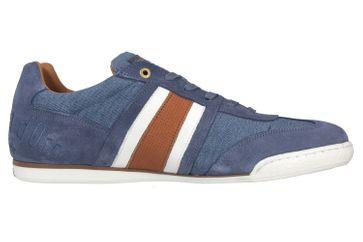Pantofola d'Oro Imola Denim Uomo Low Sneaker in Übergrößen Blau 10201044.25B/10201070.25B große Herrenschuhe – Bild 4