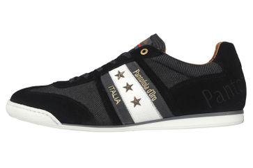 Pantofola d'Oro Imola Denim Uomo Low Sneaker in Übergrößen Schwarz 10201044.25Y/10201070.25Y große Herrenschuhe – Bild 1