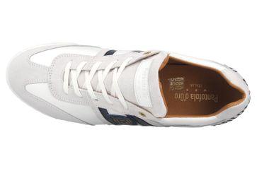 Pantofola d'Oro Imola Scudo NB Uomo Low Sneaker in Übergrößen Weiß 10201047.1FG/10201071.1FG große Herrenschuhe – Bild 7