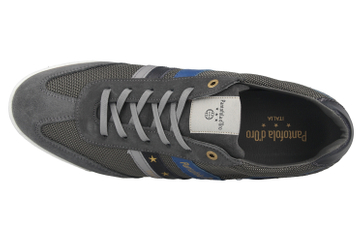Pantofola d'Oro Vasto NB Uomo Low Sneaker in Übergrößen Grau 10201046.10C/10201072.10C große Herrenschuhe – Bild 7