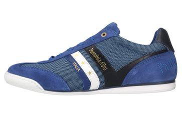 Pantofola d'Oro Vasto NB Uomo Low Sneaker in Übergrößen Blau 10201046.HFQ/10201072.HFQ große Herrenschuhe – Bild 1