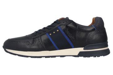 Pantofola d'Oro Sangano Uomo Low Sneaker in Übergrößen Blau 10201015.29Y/10201073.29Y große Herrenschuhe – Bild 1