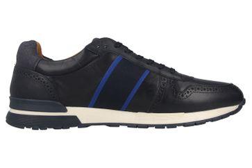 Pantofola d'Oro Sangano Uomo Low Sneaker in Übergrößen Blau 10201015.29Y/10201073.29Y große Herrenschuhe – Bild 4