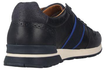 Pantofola d'Oro Sangano Uomo Low Sneaker in Übergrößen Blau 10201015.29Y/10201073.29Y große Herrenschuhe – Bild 3