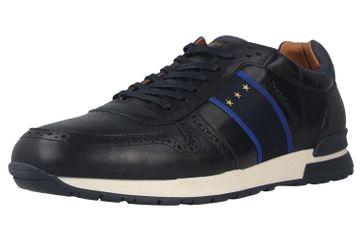 Pantofola d'Oro Sangano Uomo Low Sneaker in Übergrößen Blau 10201015.29Y/10201073.29Y große Herrenschuhe – Bild 6