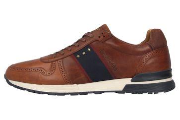 Pantofola d'Oro Sangano Uomo Low Sneaker in Übergrößen Braun 10201015.JCU/10201073.JCU große Herrenschuhe – Bild 1