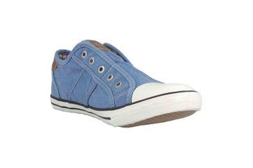 Mustang Shoes Slipper in Übergrößen Blau 1099-401-88 große Damenschuhe – Bild 5