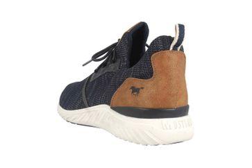 Mustang Shoes Halbschuhe in Übergrößen Blau 4132-301-820 große Herrenschuhe – Bild 2