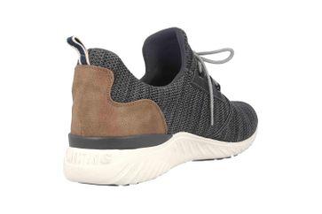 Mustang Shoes Halbschuhe in Übergrößen Schwarz 4132-301-9 große Herrenschuhe – Bild 3