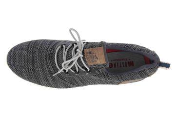 Mustang Shoes Halbschuhe in Übergrößen Schwarz 4132-301-9 große Herrenschuhe – Bild 7