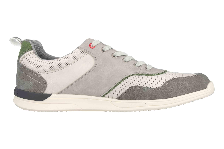 Mustang Shoes Halbschuhe in Übergrößen Grau 4136 306 203 große Herrenschuhe