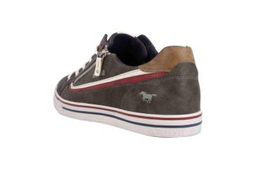 Mustang Shoes Halbschuhe in Übergrößen Grau 4147-301-20 große Herrenschuhe – Bild 2