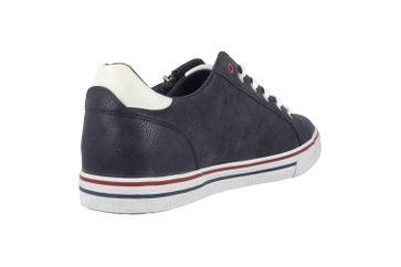 Mustang Shoes Halbschuhe in Übergrößen Blau 4147-301-820 große Herrenschuhe – Bild 3