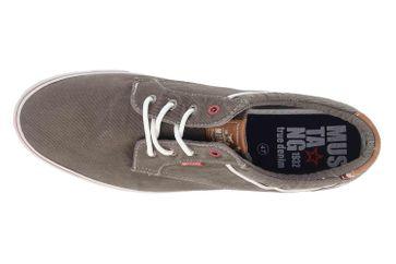 Mustang Shoes Halbschuhe in Übergrößen Grau 4147-303-20 große Herrenschuhe – Bild 7