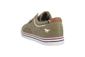 Mustang Shoes Halbschuhe in Übergrößen Grün 4147-303-777 große Herrenschuhe – Bild 2