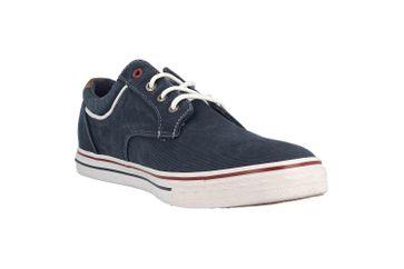 Mustang Shoes Halbschuhe in Übergrößen Blau 4147-303-820 große Herrenschuhe – Bild 5