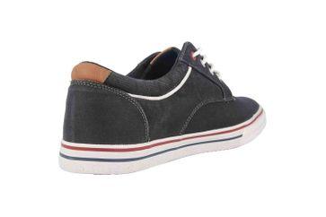 Mustang Shoes Halbschuhe in Übergrößen Schwarz 4147-303-9 große Herrenschuhe – Bild 3