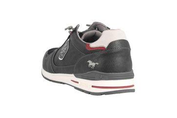 Mustang Shoes Halbschuhe in Übergrößen Grau 4154-301-259 große Herrenschuhe – Bild 2