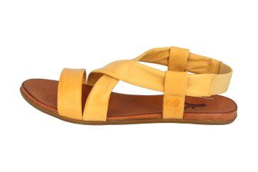 Mustang Shoes Sandalen in Übergrößen gelb 8003-802-6 große Damenschuhe – Bild 1