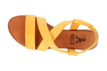 Mustang Shoes Sandalen in Übergrößen gelb 8003-802-6 große Damenschuhe – Bild 7