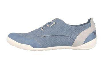 Mustang Shoes Sneaker in Übergrößen Blau 1314-301-8 große Damenschuhe – Bild 1