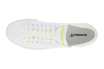 Romika Sun Fast Sneaker in Übergrößen Weiss 20019 244 000 große Herrenschuhe – Bild 7
