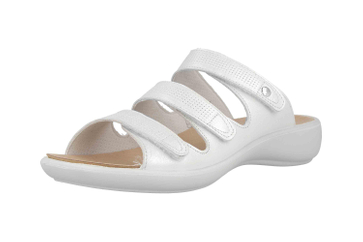 Romika Ibiza 106 Pantoletten in Übergrößen Weiß 16106 194 010 große Damenschuhe – Bild 6